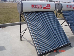 Picture of Sunrain non-pressuresolar hot water heator