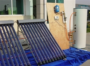 Picture of Hitek solar hot water system without heat exchanger