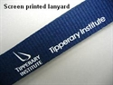 Picture of Screen Printed Lanyard